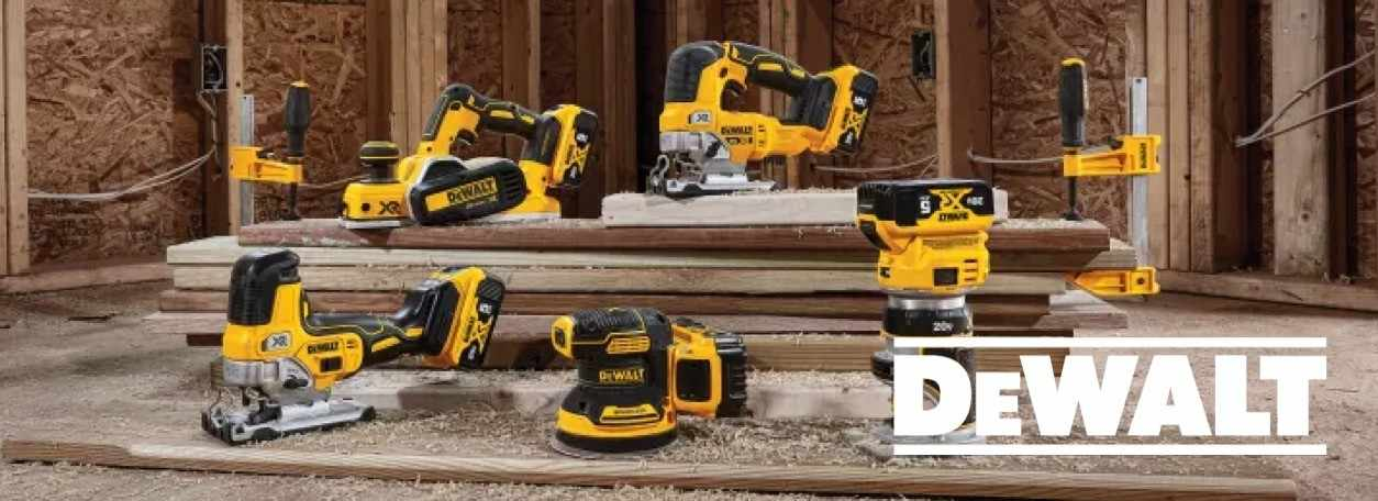 More about Dewalt tools at G.W. Hardware