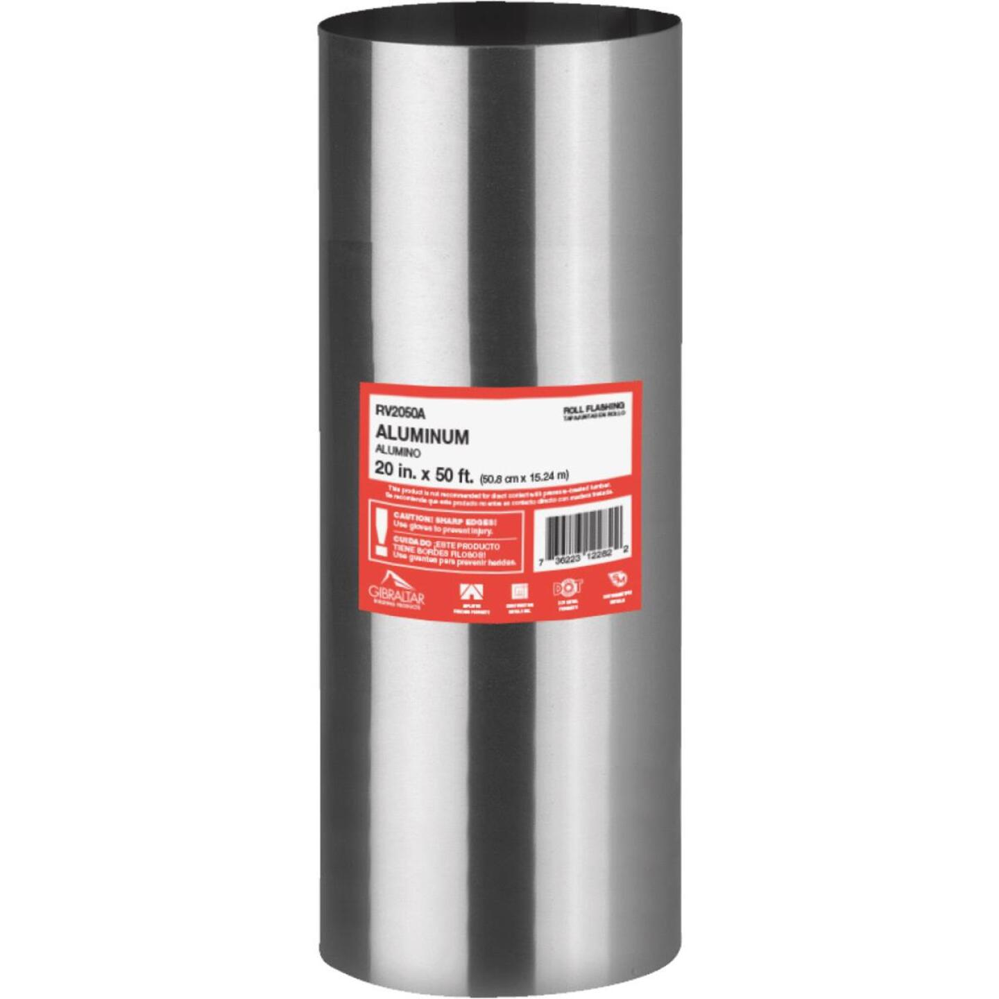 NorWesco 20 In. x 50 Ft. Mill Aluminum Roll Valley Flashing Image 1