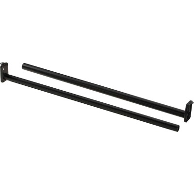 National 30 In. To 48 In. Adjustable Closet Rod, Oil Rubbed Bronze