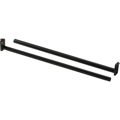 National 48 In. To 72 In. Adjustable Closet Rod, Oil Rubbed Bronze