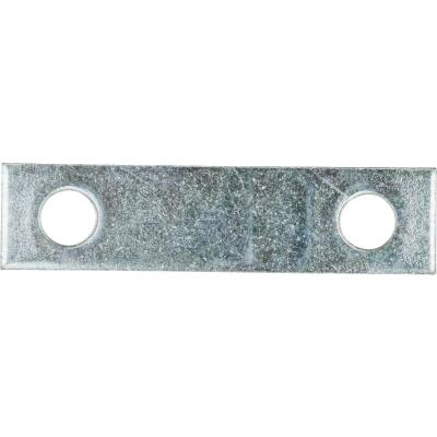 National Catalog 118 2 In. x 1/2 In. Zinc Steel Mending Brace