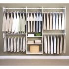 Easy Track Deluxe Starter Closet System Image 1