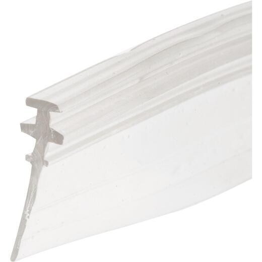 Prime-Line 3/4 In. x 36 In. Clear Double Tee Shower Door Bottom Sweep