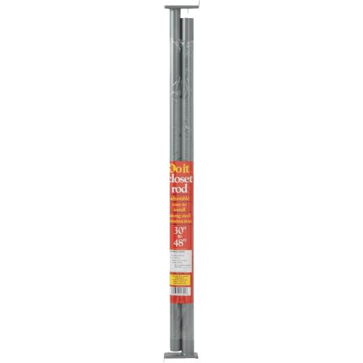 Do it 30 In. to 48 In. Adjustable Closet Rod, Lustra