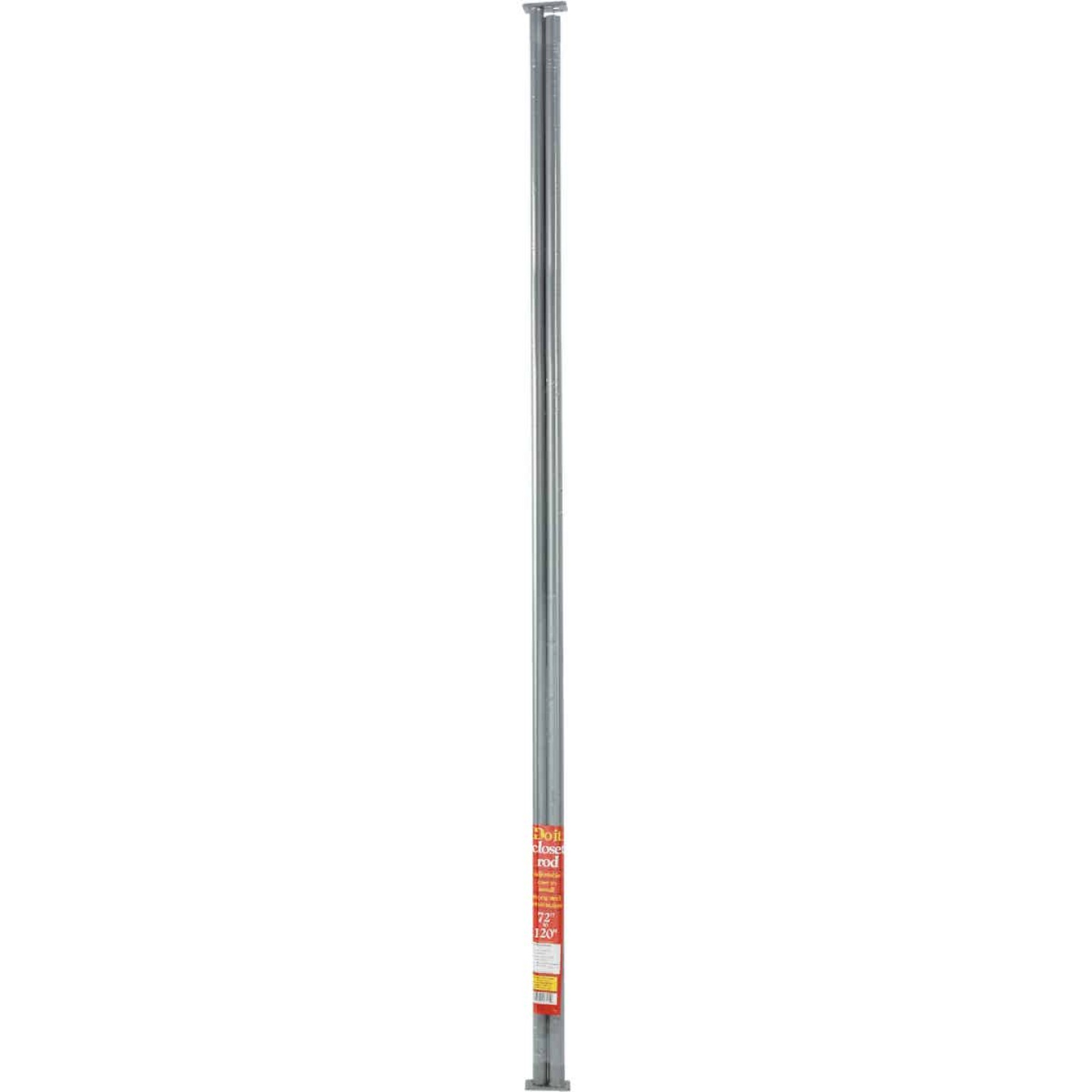 Do it 72 In. to 120 In. Adjustable Closet Rod, Lustra Image 2