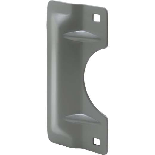 Defender Security 3 In. x 7 In. Gray Latch Guard