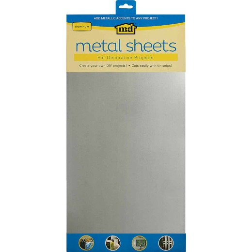 M-D 1 Ft. x 2 Ft. x .020 In. Galvanized Steel Sheet Stock