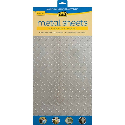 M-D 1 Ft. x 2 Ft. x .020 In. Diamond Tread Metal Sheet Stock