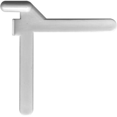 Prime-Line 5/32 In. x 3/16 In. Left Hand Nylon Tilt Corner Key