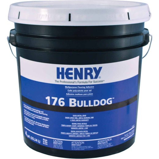 Henry 176 Multi-Purpose Floor Adhesive, 4 Gal.