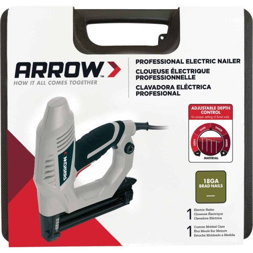 Arrow 18-Gauge Heavy-Duty Electric Brad Nailer