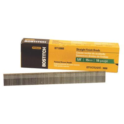 Bostitch 18-Gauge Coated Brad Nail, 5/8 In. (3000 Ct.)