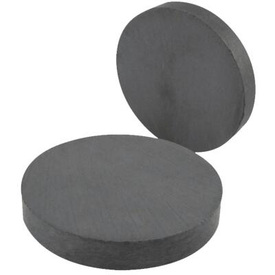 Master Magnetics Ceramic 1 in. Magnetic Discs (6-Pack)