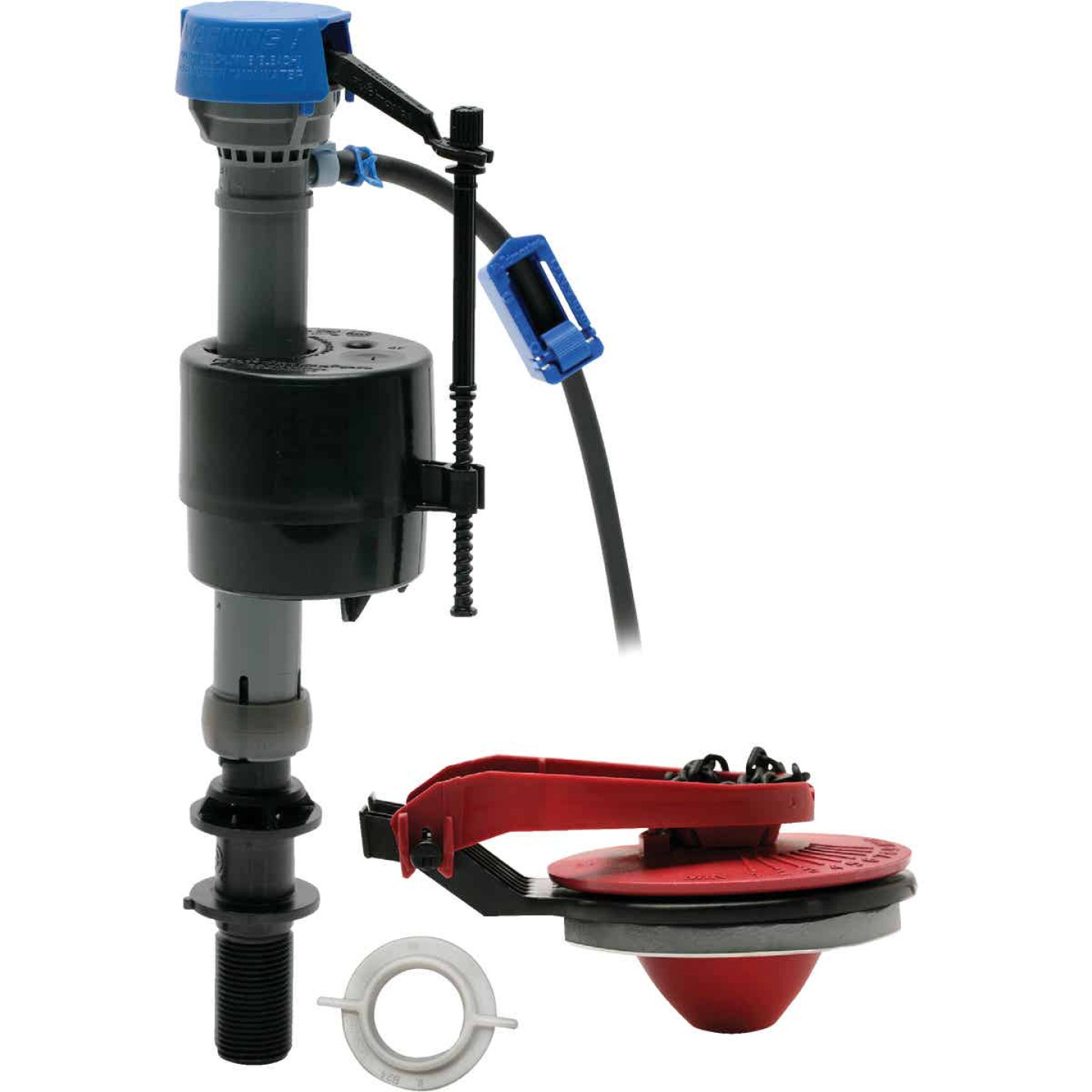 Fluidmaster PerforMAX Fill Valve & 2 In. Flush Valve Toilet Repair Kit Image 1