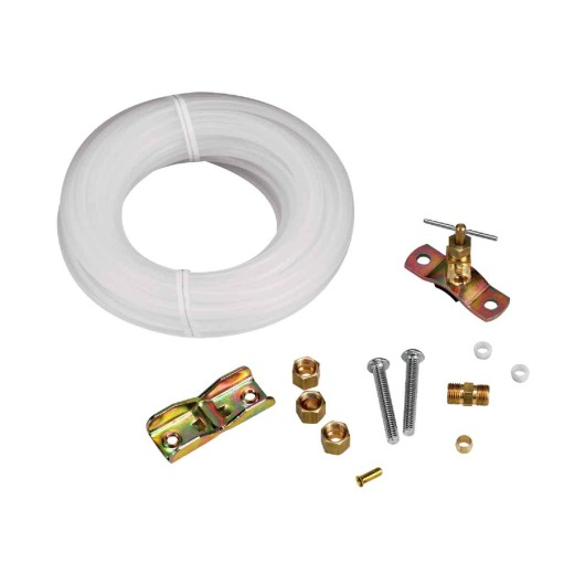 Oatey 25 Ft. x 1/4 In. Polyethylene Tubing Ice Maker Installation Kit