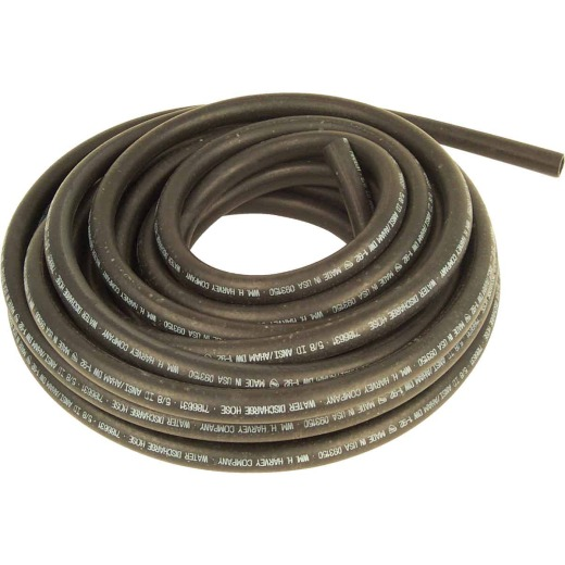 Harvey 5/8 In. x 50 Ft. Black Replacement Dishwasher Drain Hose