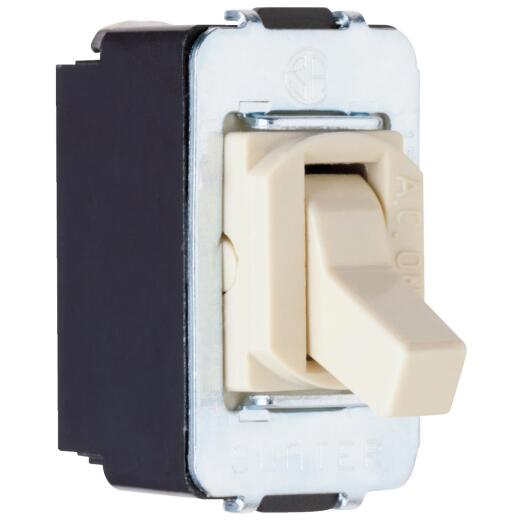 Pass and Seymour Interchangeable Ivory 15A 3-Way Switch