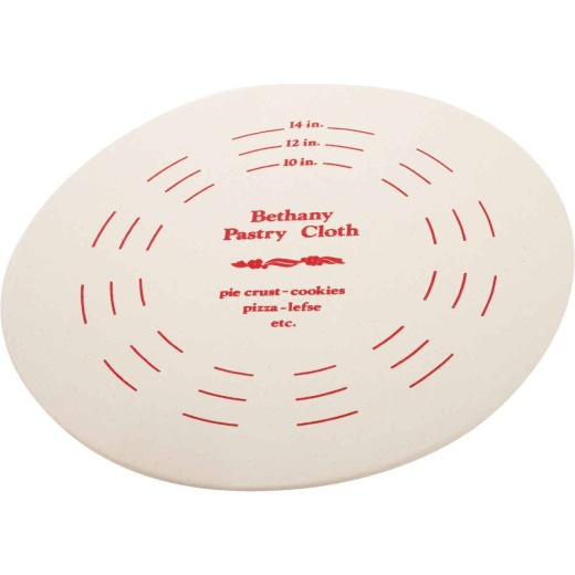 Bethany 9 In. Dia. Pastry Board & Cotton Cloth