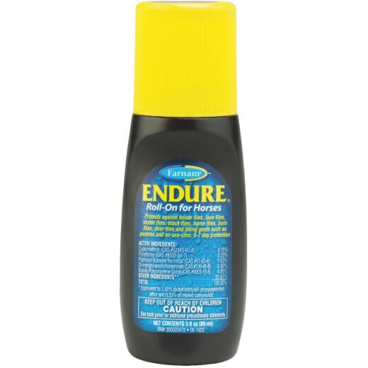 Endure Roll On Fly Repellant 3 Oz.