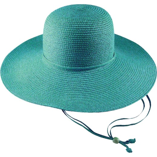 Midwest Quality Glove Women's Blue Straw Sun Hat