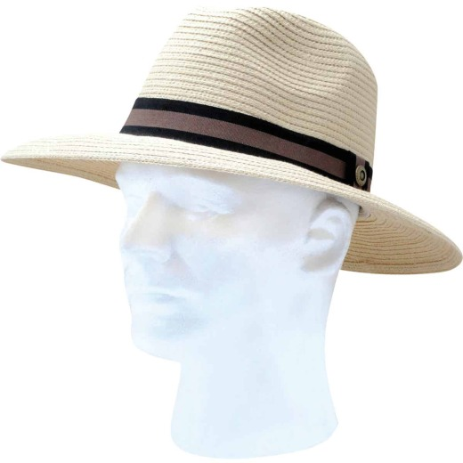 Slogger Unisex Light Brown Straw Sun Hat