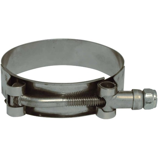 Apache 2-3/16 In. x 2-1/2 In. Stainless Steel T-Bolt Clamp