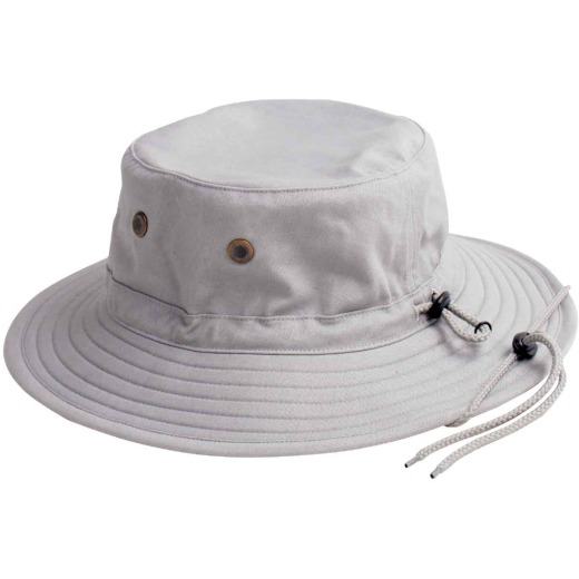 Sloggers Men's Gray Cotton Bucket Hat
