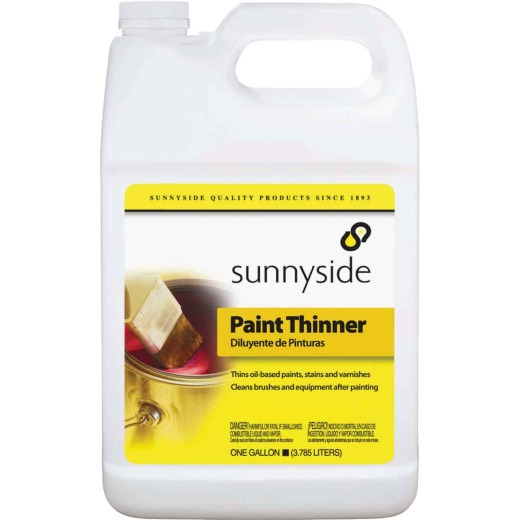 Sunnyside 1 Gallon Specs Paint Thinner, Plastic Can