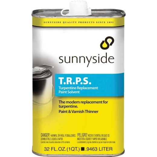 Sunnyside 1 Quart T.R.P.S.Turpentine Replacement Paint Solvent