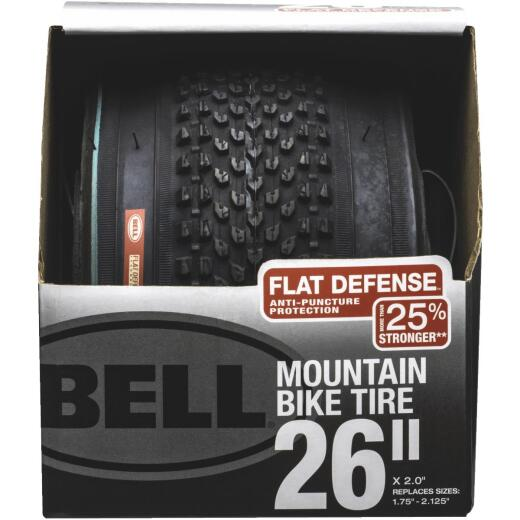 Bell 26 In. Traction Mountain Bike Tire with Flat Defense